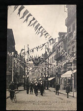 CHALON SUR SAONE - Fete des 15 16 17 aout 1913 - Rue de l'Obelisque