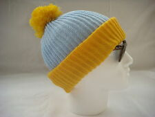 Cartman bobble hat blue yellow beanie South Park ski snowboard