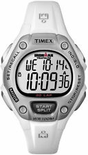 Timex Women's Ironman Classic 30 Mid-Size Watch, White Resin Strap