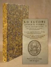 1575 Paracelsus Alchemie Magie occulta Ad Iacobi Auberti Vindonis Quercetanus