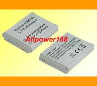 Battery for NB-6L Canon PowerShot SX240 HS SX260 HS ELPH 500 HS Digital Camera