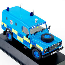 1/43 Blue Land Rover Defender Police Car Diecast car model collection W Orig.Box