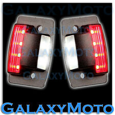 Dodge 94-02 RAM 1500+2500+3500 White LED License Plate+Rear Red LED Brake Light