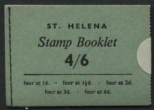 St Helena - 1962 - 4/6 Booklet - SG# SB1 CV £55