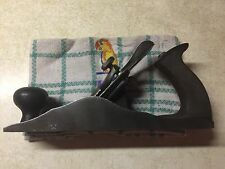Rare Chaplin's Improved Plane 1205 Stanley 4 Size Scalloped Sides Rubber Tote