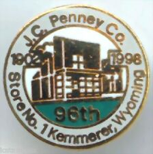 "JC Penney ""MOTHER STORE"" 96th Anniversary Lapel Pin"