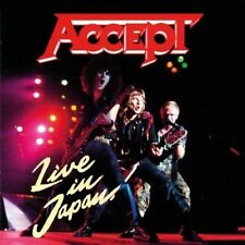 Kaizoku-Ban: Live In Japan by Accept (CD, Aug-2013, Music on CD)