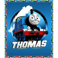 THOMAS THE TANK ENGINE TRAIN  FAST FRIENDS QUILTING PANEL 100% COTTON FABRIC 35""