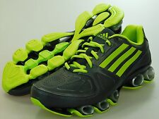 New ADIDAS Mens NITRO FB BOUNCE GRAY/GREEN RUNNING SHOES d66164 Size 9