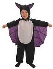 FANCY DRESS HALLOWEEN BAT SUIT TODDLERS KIDS