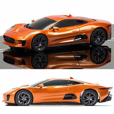 Scalextric SLOT CAR JAGUAR C-X75 James Bond spettro c1336 LUCI