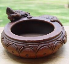 DRAGON CERAMIC INCENSE BURNER CAULDRON Wicca Pagan Witch Goth Herbs Incense