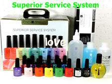 CND Shellac UV/LED Gel Color SUPERIOR SERVICE SYSTEM *Start & Finish Polish Kit