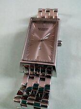 NEW OTHER KATHARINE HAMNETT ALL STAINLESS QUARTZ MOVEMENT WATCH