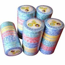 Set of 10 Pcs Compressed Magic Towel Tissues for Travel