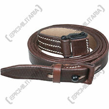 K98 SLING for Mauser Rifle - Brown Leather - German WW2 Reproduction