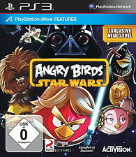 Sony Playstation 3 PS3 Spiel Angry Birds Star Wars