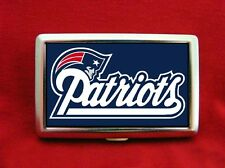 NEW ENGLAND PATRIOTS SUPER BOWL 51 BRADY E-CIGS METAL WALLET CIGARETTE IPOD CASE