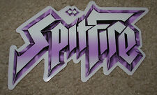 "SPITFIRE Rock N Roll Skate Sticker 7 X 4.25"" great 4 skateboards helmets decal"