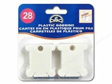 DMC FLOSS BOBBINS PACK OF 28 IDEAL FOR STORING COTTONS - 6102 - FREE UK P&P