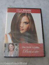 2 PACK. Beth Minardi Joico Vero K-Pak Pro Color Tutorial Series Brunnette. DVD.