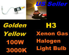 Golden Yellow Xenon 100w Bulb- Lexus 98-99 01-07 LX470/ 03-05 IS300 Fog Light H3