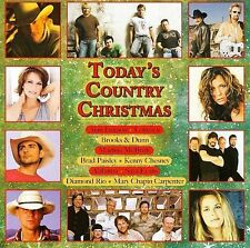 Today's Country Christmas by ALAN JACKSON ALABAMA KENNY CHESNEY LONESTAR MORE