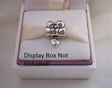 Authentic Pandora Sterling Silver Love Birds Charm 791033 Anniversary
