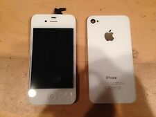 Original iPhone 4S GSM White Screen Replacement + Original White Back Glass