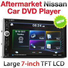 "7"" Car DVD Player Stereo Radio USB MP3 For Nissan Altima Juke Pathfinder Versa"
