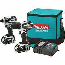 Makita CT200RW 18V Compact Lithium-Ion Cordless Combo Kit, 2-Piece - NEW
