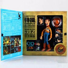 TOY STORY SCI-FI REVOLTECH WOODY NO.010 Action Figure 6.3'' A75W