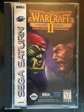 Warcraft II: The Dark Saga (Sega Saturn) Complete CIB Fast FREE Shipping!