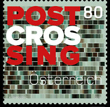 Postcrossing (postcard exchange) mnh stamp Austria 2016