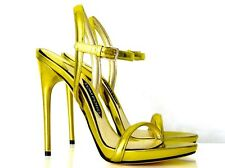 TOM FORD LUXUS-HIGH HEELS GOLDGELB GR:40 NEU !!!