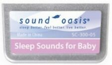 Sound Oasis SC-300-05 Sound Therapy Expansion Sound Card Sleep Sounds for Baby