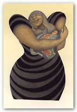 AFRICAN AMERICAN ART PRINT Pride and Joy Signed Albert Fennell