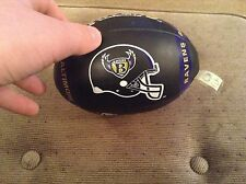 Baltimore ravens soft football with old logo.