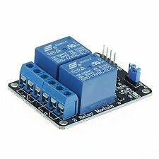 acc-153  5V Two 2 Channel Relay Module With optocoupler Compatible With Arduino