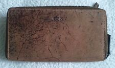 Wallet,JOBIS,Hight Quality Leather,Brown,Unisex