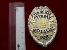 Cypress Police Polizia BADGE
