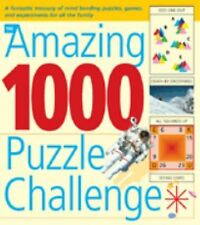 The Amazing 1000 Puzzle Challenge: A Fantastic Treasury of Mind Bending Puzzles,