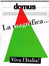 Domus Magazine No. 750 - June 1993 Italian Architecture and Design