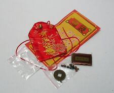 Chinese Blessing Lucky Fook Bag Wish Fullfill Safety Hanging Charm