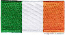 IRELAND FLAG embroidered iron-on PATCH IRISH EMBLEM REPUBLIC EIRE applique NEW