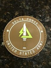 Delta Force US Army Special Force Counter Terrorism Hostage Rescue PVC Patch
