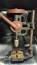 VINTAGE KEEN HAND DRILL   BENCH MOUNTED