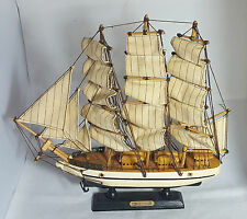 Beautiful Large Wooden US Constitution Sail Ship Model (Height - 32 cm)