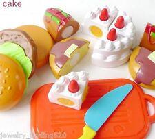 Bambino Plastica Taglio Festa Di Compleanno Cake Hamburg Piastrina Cibo Cucina