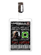 Resident Evil Umbrella Project Nemesis ID Badge Cosplay Costume Prop Halloween